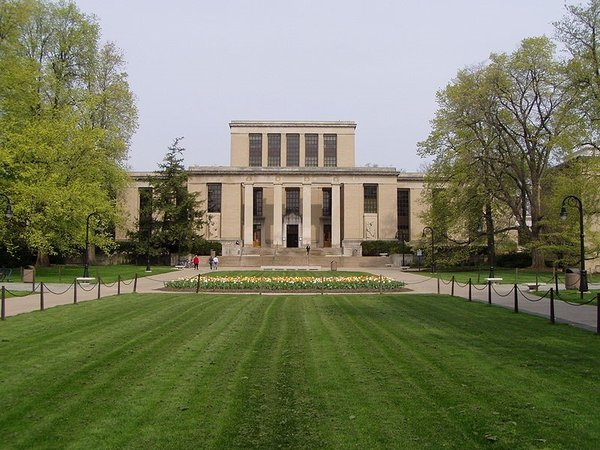 The Pattee Library at Penn State University, where Betsy was murdered.