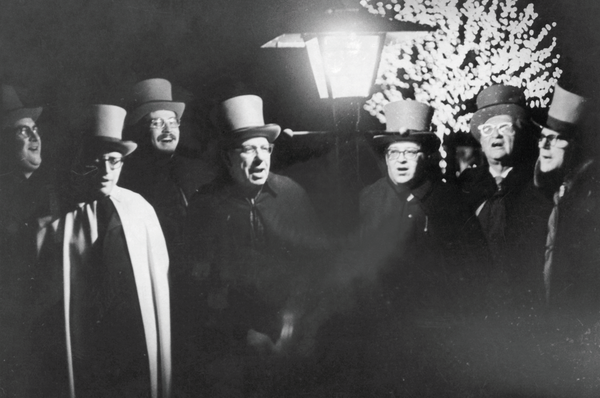 The Glen Rock Carolers during the 1950s.