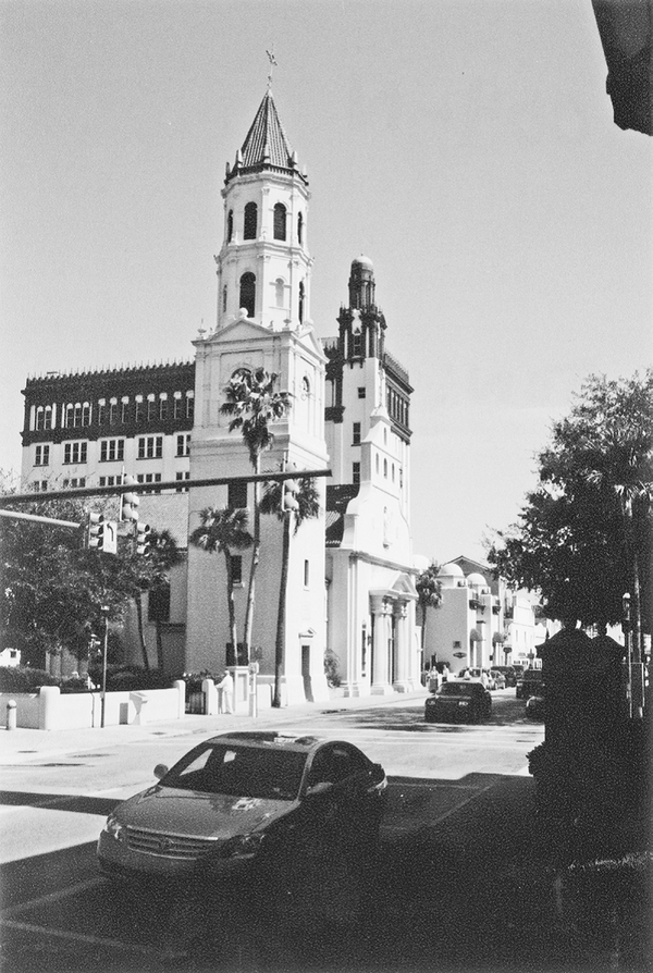 Cathedral Basilica of St. Augustine. Reprinted from St. Augustine Then & Now by Summer Bozeman, courtesy of the Florida Photographic Archives (pg. 12, Arcadia Publishing, 2009).