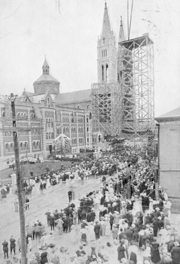Basilica and Shrine of Our Lady of Perpetual Help. Reprinted from Catholic Boston by (pg. 101, Arcadia Publishing, 2018).