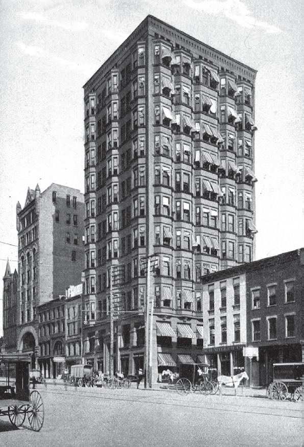 The Wyandotte Building, Columbus' first skyscraper.
