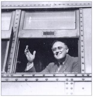 President Franklin D. Roosevelt.