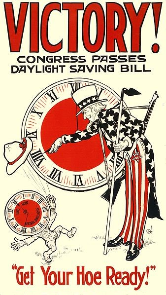 "George Hudson, the inventor of daylight savings time. Public Domain image via Wikimedia Commons. In reality, it was an entomologist from New Zealand who gave the first credible proposal of DST. A shift-worker, George Hudson invented DST as a way to have more daylight after work for his bug collecting. His 1895 proposal was popular in his native New Zealand, and his proposal was followed by a more extensive paper in 1898. Thousands of miles away, William Willett was looking for a couple extra of hours to golf. Unaware of Hudson's paper, Willet proposed setting the clocks forward during the summer months in 1907. However, both of their proposals fell short of any mainstream popularity, and DST remained on the fringes until World War I, when it was adopted by the German Empire as a way to save coal during the war. It was later adopted by Britain and most of their allies, including the United States in 1918. So why do we have daylight savings now? Although DST is no longer helping to conserve coal, it has been shown to help conserve some energy during the winter months. By ""falling backwards,"" there is more daylight during normal waking hours, reducing the amount of electricity needed during winter months.  Even though the policy was first instituted for the sake of energy, its main supporters were typically within the Chamber of Commerce, who believed that people might be more inclined to go out shopping and spend money if there were more daylight hours after work. As a result, daylight savings has been gradually lengthened since 2005 from only six months of the year to eight months. That isn't to say that DST has been without its opponents – contrary to popular belief, the agricultural community lobbied heavily against the initial institution of daylight savings. By setting clocks forward, farmers lost an hour in the mornings for gathering milk and harvesting crops for market. The movie industry also had concerns with daylight savings, as they believed more daylight would make people less likely to go into a darkened movie theatre."