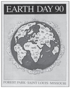 A poster from Earth Day 90.