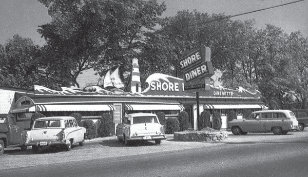 Shore diner in New Hampshire.