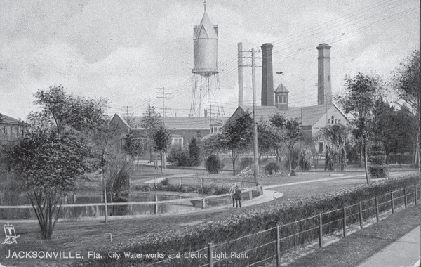 Water Works and Electric of Jacksonville, 1900-1910.