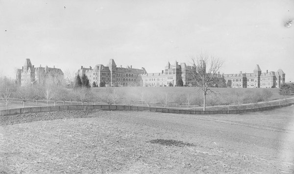 Hudson River State Hospital.