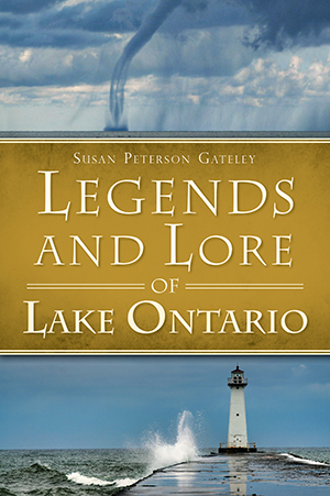 Legends and Lore of Lake Ontario book cover.