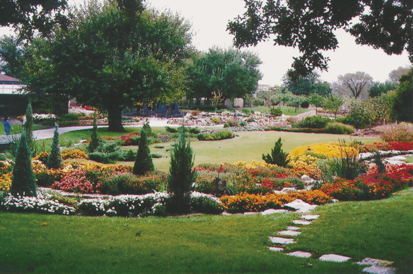Botanica, The Wichita Gardens park in Wichita, Kansas, which was designed by the Wichita Area Garden Council.