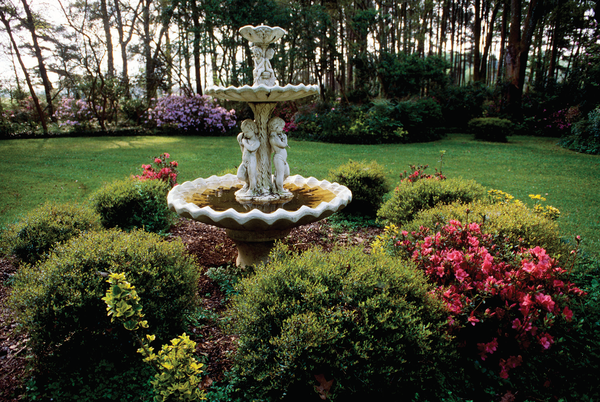 A section of Windrush Gardens at Louisiana State University.