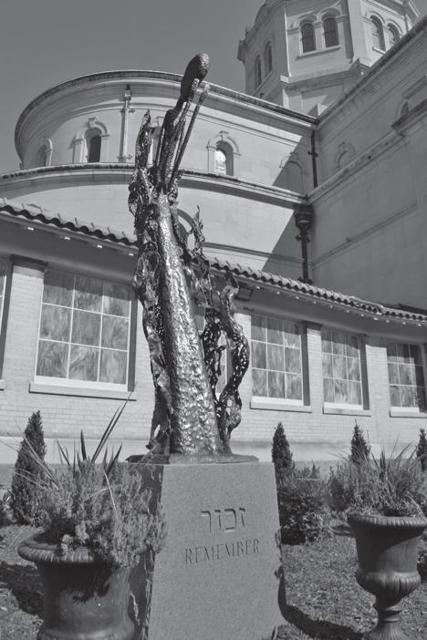 The Rememberance statue