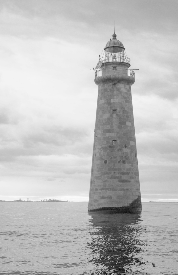 Minot's Ledge Lighthouse in Massachusetts.