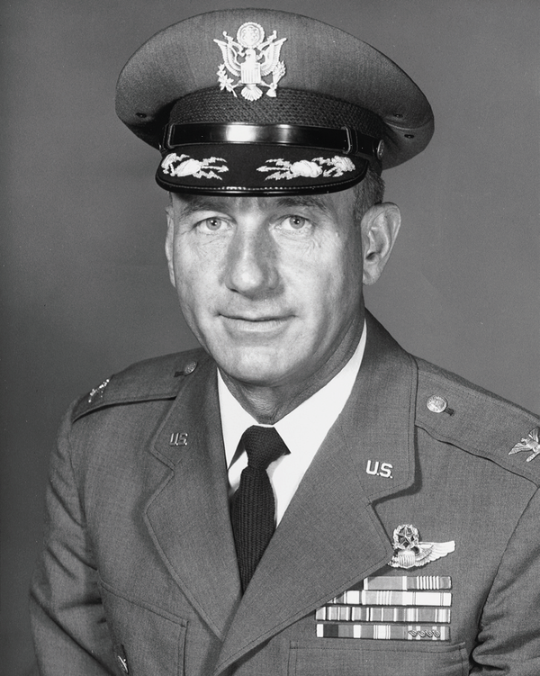 Colonel Harry Shoup.