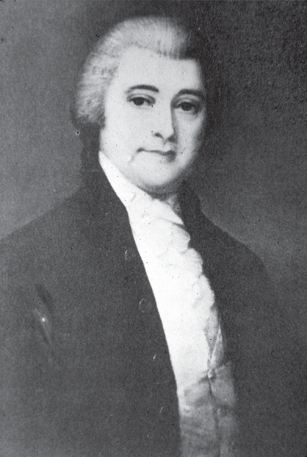 Conspirator William Blount, who attempted to give Spanish-held lands to the British.