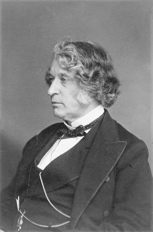 Senator Charles Sumner.