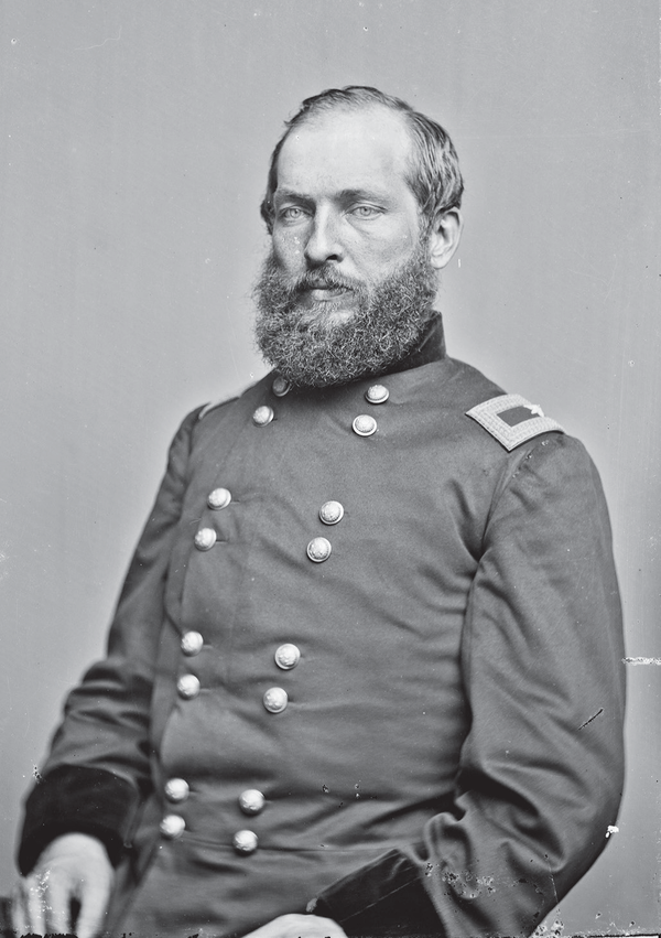 Future President James A. Garfield during the Civil War. Garfield denied any involvement in the Crédit Mobilier Scandal.