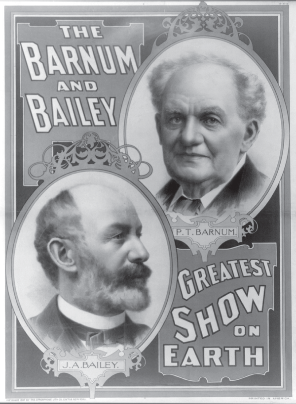 P.T. Barnum and J.A. Bailey.