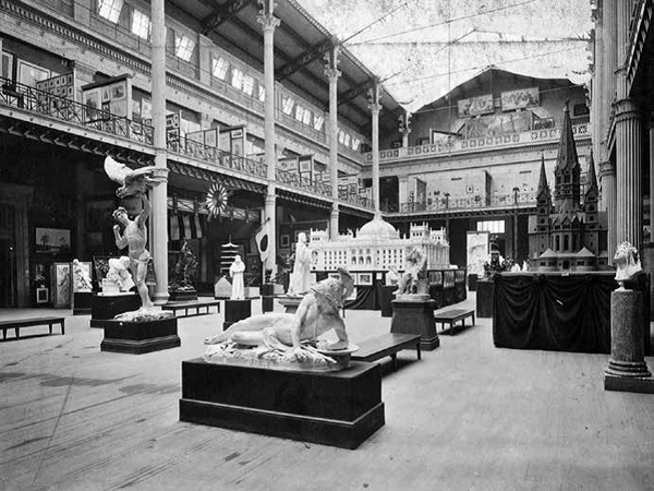 World's Columbian Exposition, Palace of Fine Arts, Main Hall.