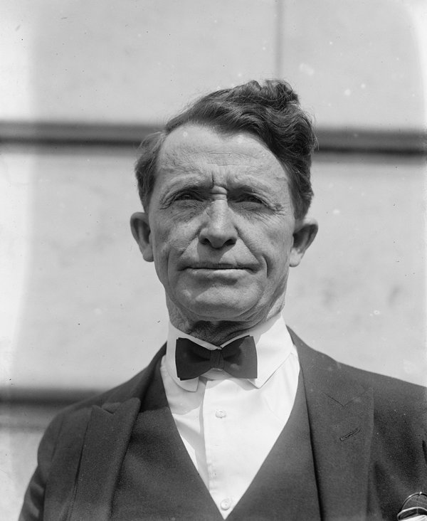 A later photo of Al Jennings. Image courtesy of the author.