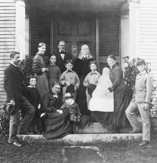 Ralph Waldo Emerson and his family.