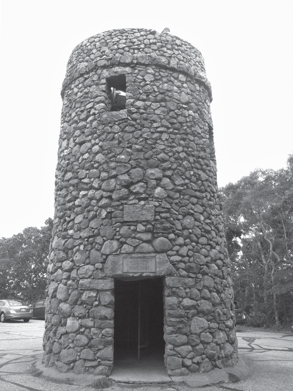 Scargo Tower, an observation tower near Scargo Lake.