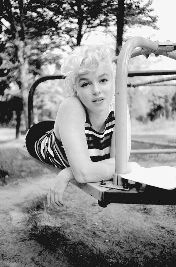 Marilyn Monroe, a star of Hollywood's Golden Age.