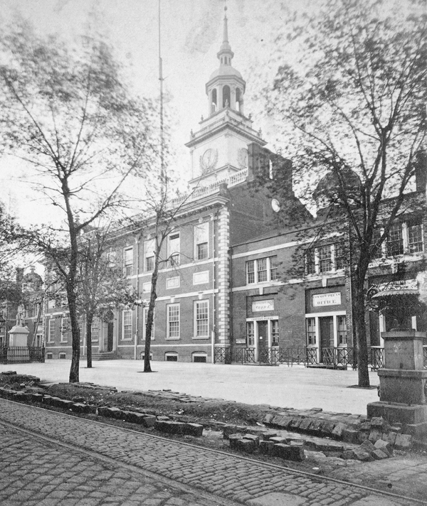 Independence Hall in 1875.