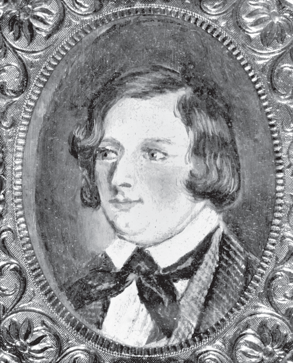 A portrait of Longfellow from 1815, when he was roughly eight years old.