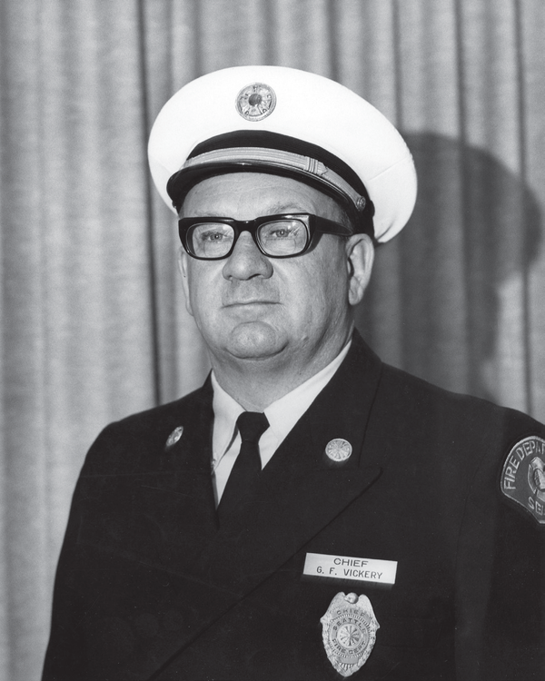 Fire Chief Gordon Vickery.