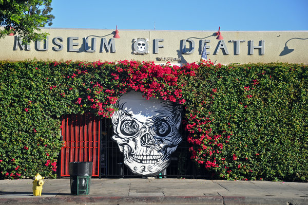 The Museum of Death in Hollywood, California. Image by Jennifer Boyer [ CC BY-ND 2.0], via Flickr.