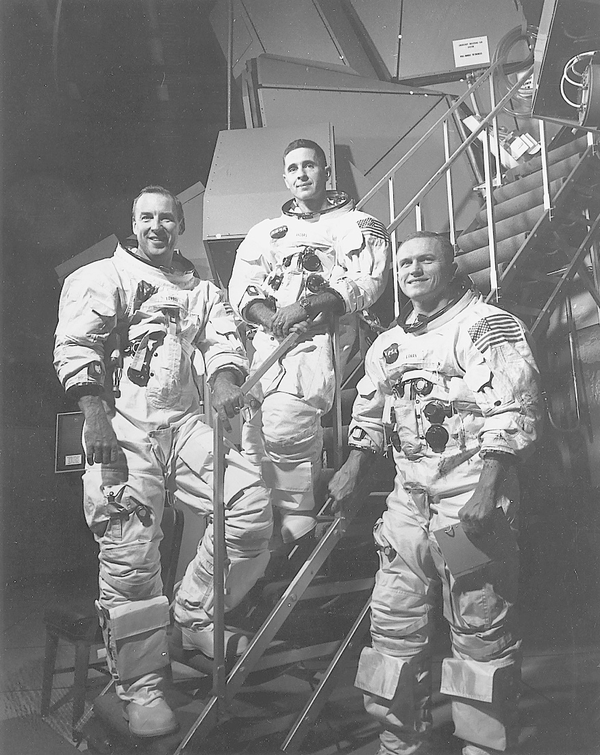 The Apollo 8 astronauts.