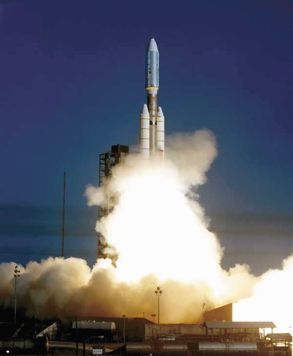 The Voyager 1 liftoff.