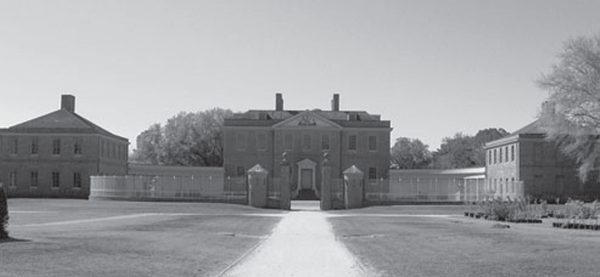 Tryon Palace is a recreation of the original palace, designed and built by John Hawks for Governor William Tryon in 1767–70.