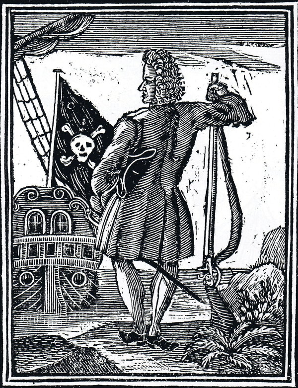 "Stede Bonnet, the ""Gentleman Pirate."""
