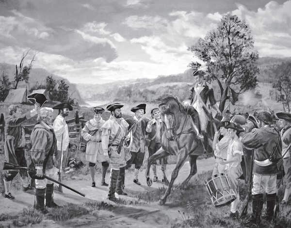 "Some of the ""whiskey boys"" depicted during the rebellion."