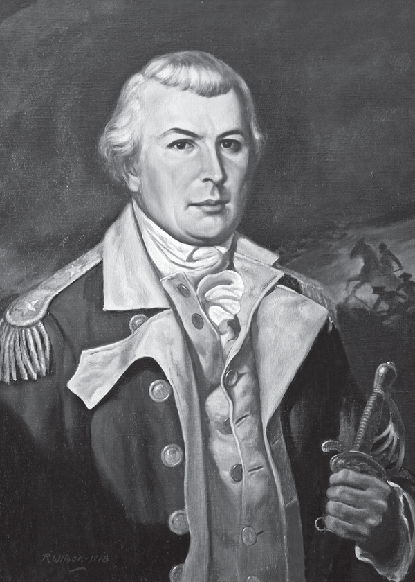 A painting of Nathanael Greene.