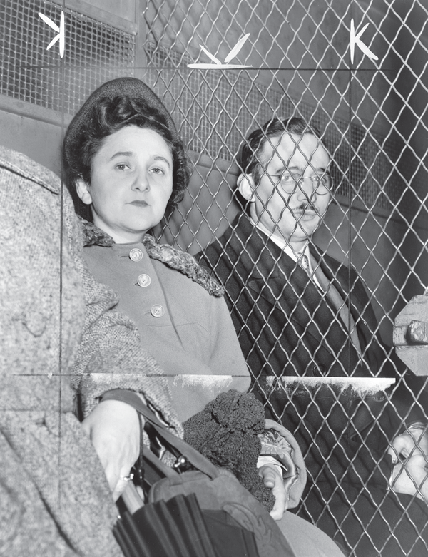 The Rosenbergs while in prison.