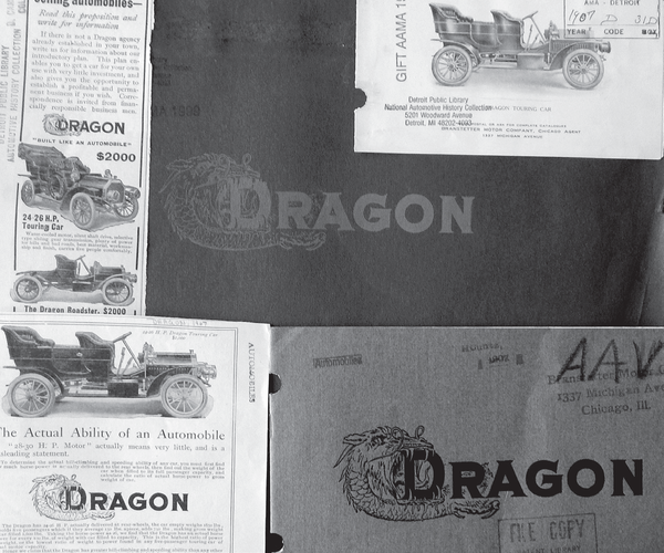 An advertisement for Dragon automotive.