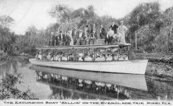 An excursion on the Miami River.