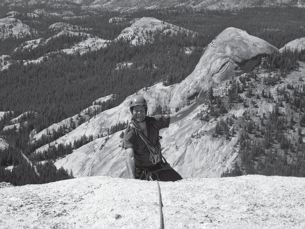 Rock climbing is also a popular summer activity in Little Cottonwood Canyon.