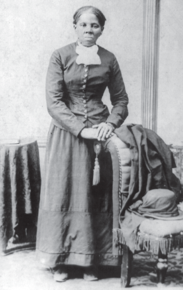 Harriet Tubman, who helped thousands of slaves with their journey through the Underground Railroad.