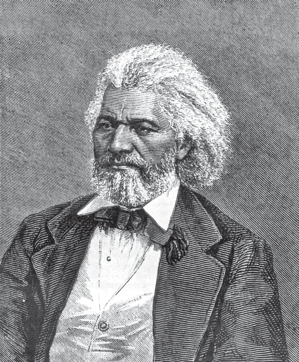 Frederick Douglass, a vocal opponent of slavery, and a former slave who helped many along the Underground Railroad.