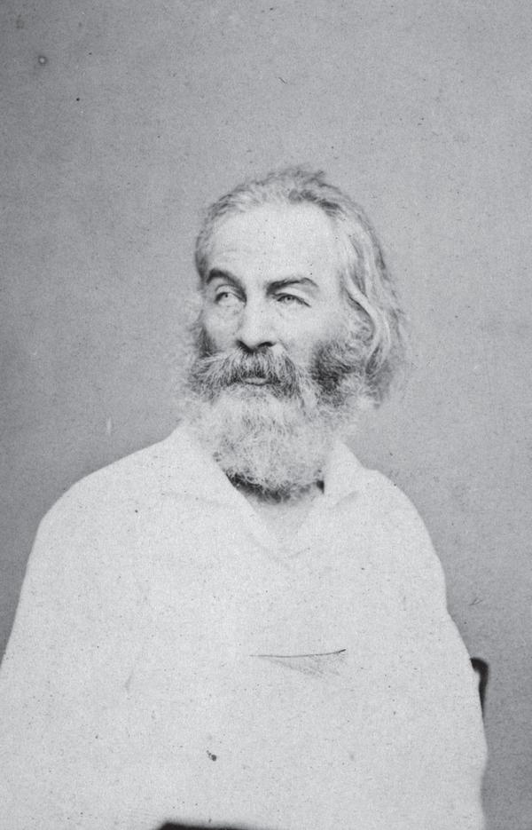 Poet and author Walt Whitman.