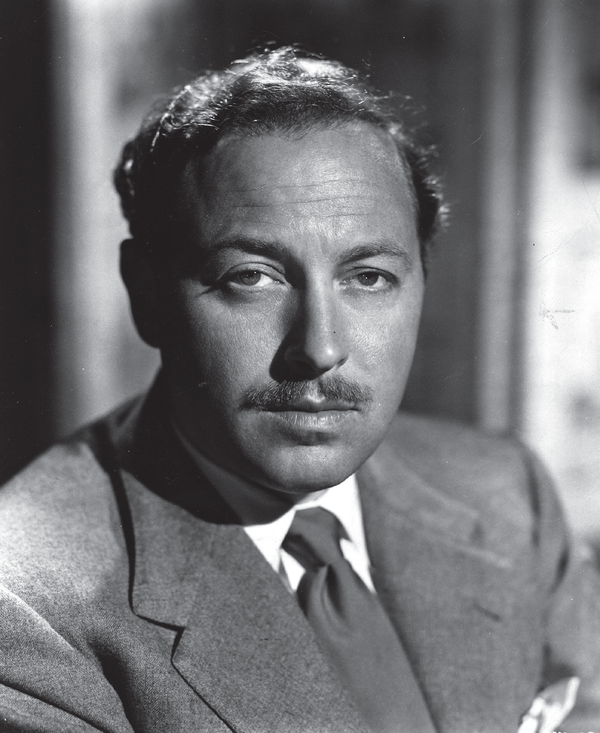 Playwright Tennessee Williams.