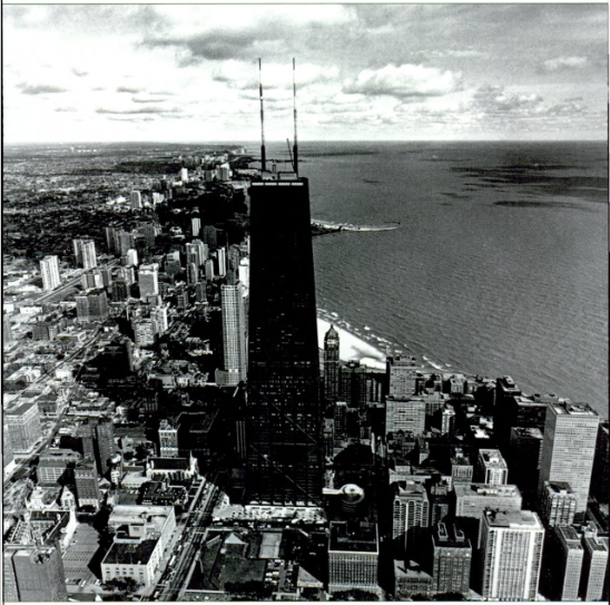 The John Hancock Building.