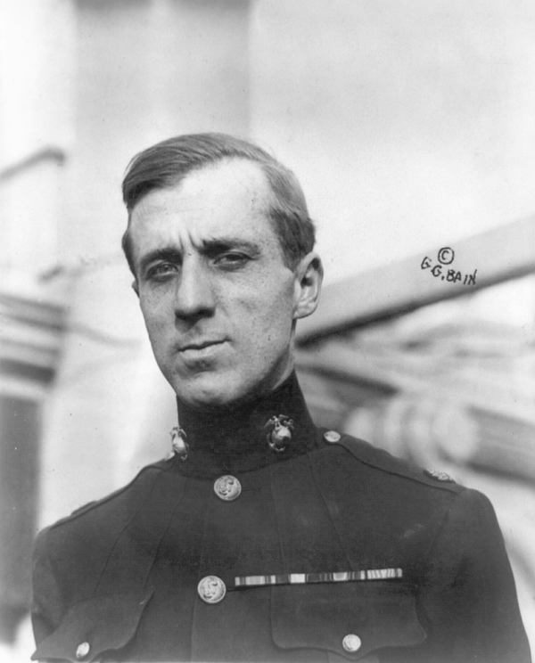 Major General Smedley Butler.