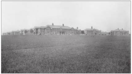 Byberry State Hospital.