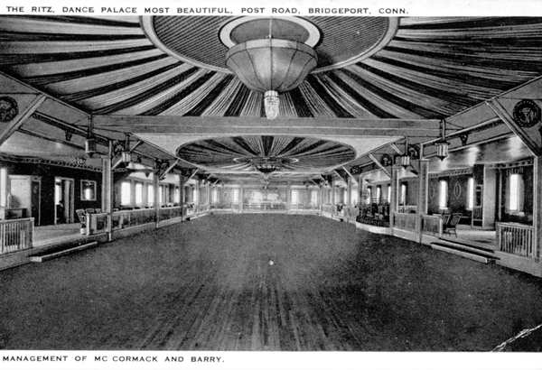 The Ritz Ballroom, one of the most popular dancehalls during the Swing era.