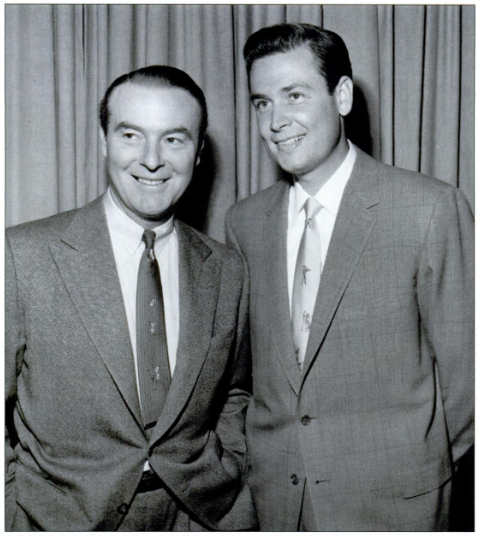 A young Bob Barker (right).