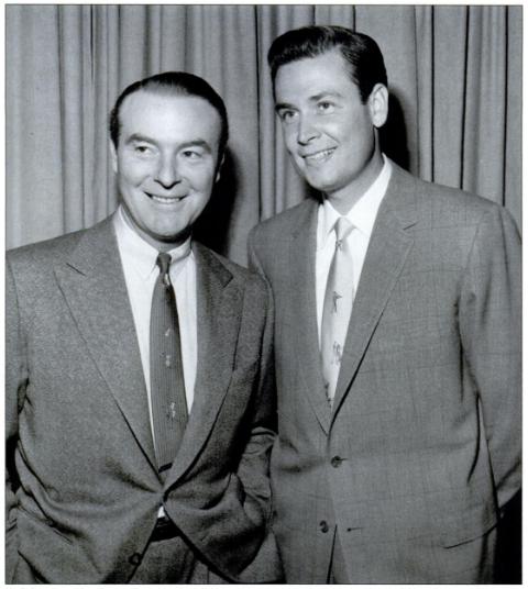 A young Bob Barker (right).